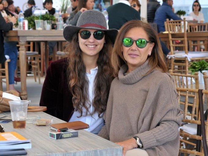 Sofía Rubio y Enriqueta Medina