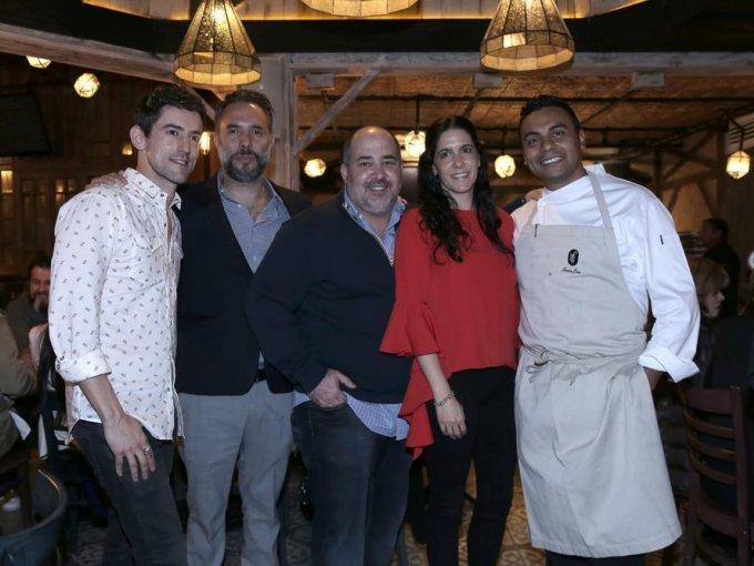 Luis Gerardo Méndez, Enrique Landa, Ramón Orraca, Aracely Alonso y Juan Cabrera