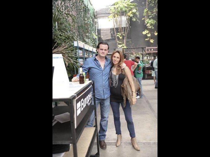 Andrés Fernández y Tatina Álvarez