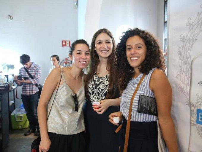 Alejandra Ríos, Melani Vilchis y Akeni Sato