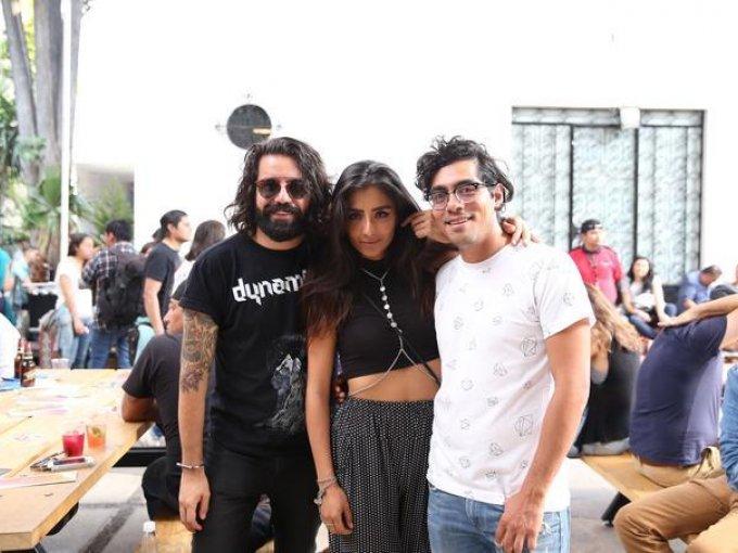 Jorge Ríos, Sofía Engberg y Xare Rodíguez
