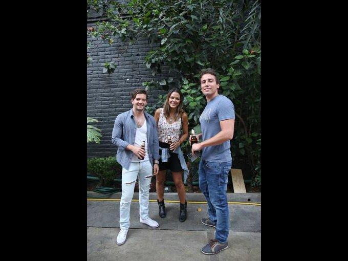 Diego Pastrano, Marina Macedo y Carlos Rovira