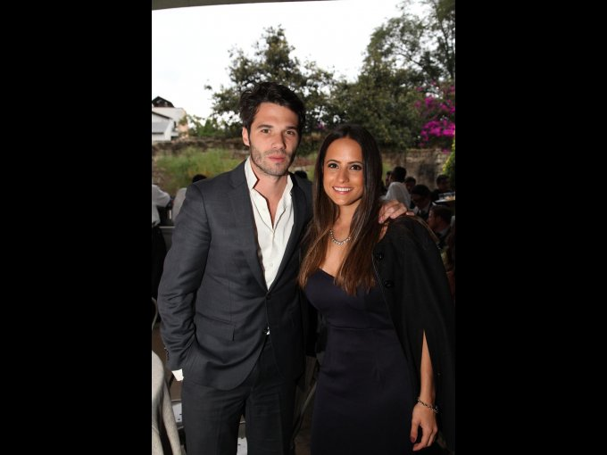 Philippe Cahuzac y Cecilia Gómez