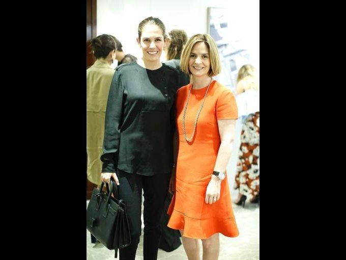 Ana Gálvez y Andrea Artigas
