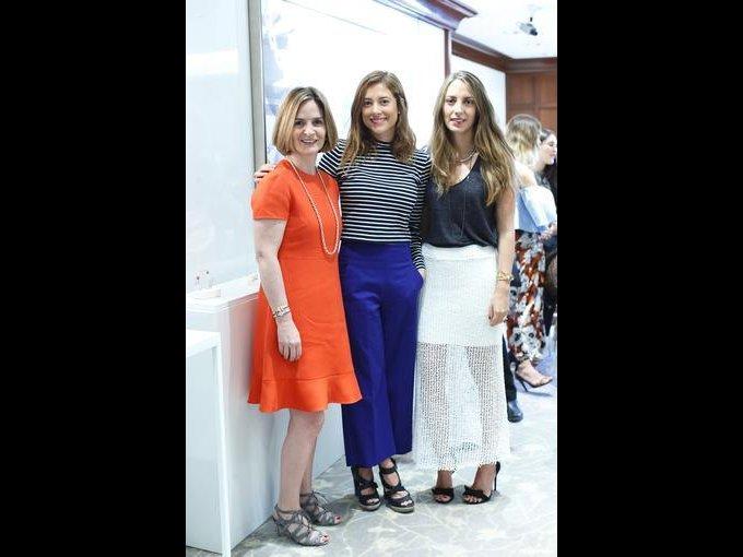 Andrea Artigas, Paola Noriega y Gabriela Setien