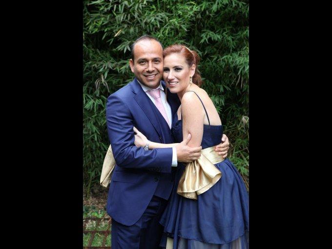 Percy Mourao e Yvonne Garza