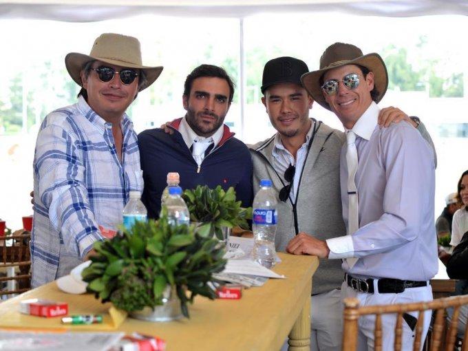 Fabián Ordoñez, Miguel Marón, José Zendejas y Francisco Lomelín