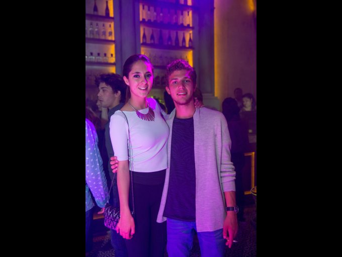 Camila Cantais y Rodrigo Álvarez
