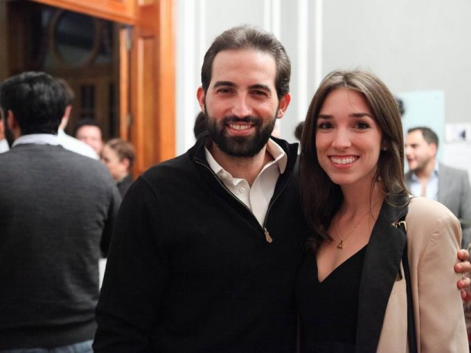 Roberto González y Mercedes Galguera