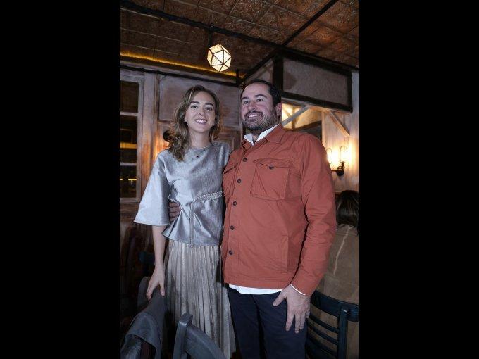 Bárbara Albert y Tony Fortes