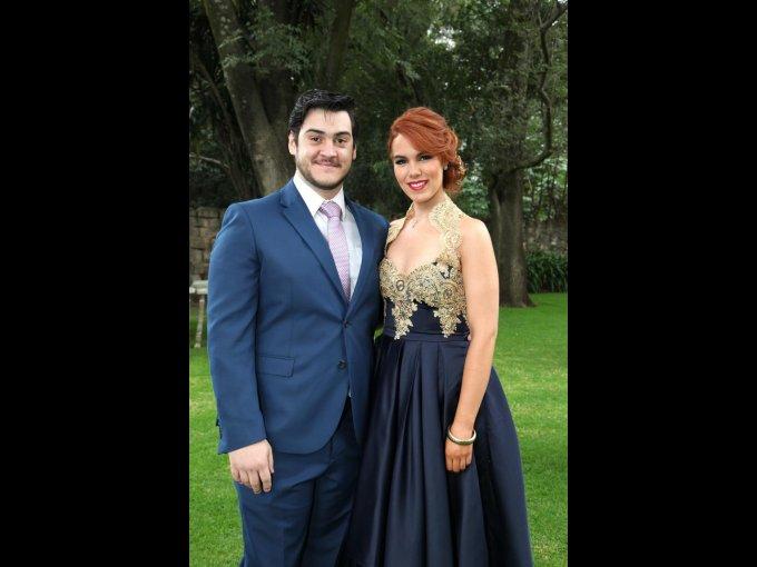 Eduardo Villalpando y Daniela Garza