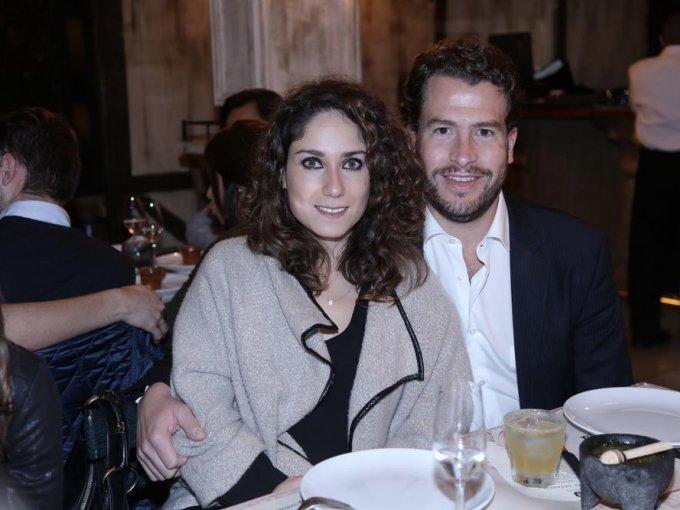 Mónica Haro y Adrián Morales