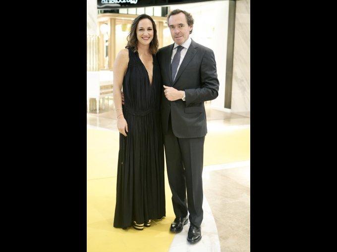 Mariana Baños y Ángel Céspedes