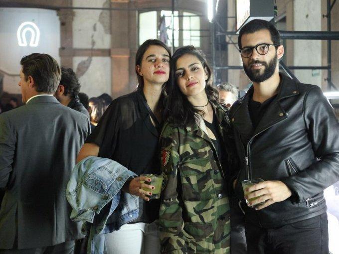Ana Fernández, Alejandra Mor y Simón Sabines