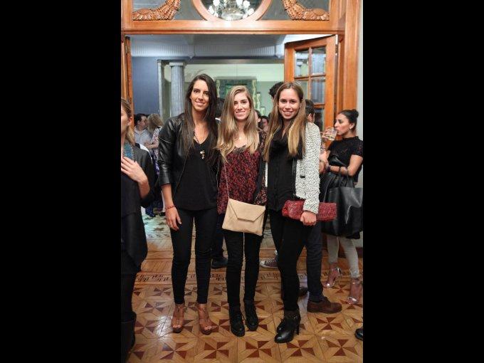 Lucía Rovira, Inés Pérez y Cecilia Serrano