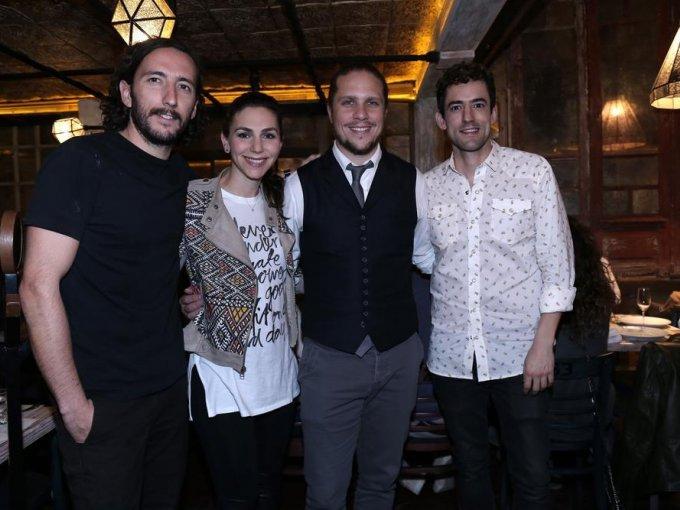 Beto Hinojosa, Vivián Alazraki, Gary Alazraki y Luis Gerardo Méndez