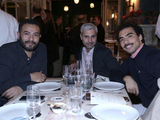 Carlos Carrillo, Matthieu Guerpillon y Kevin Nichols