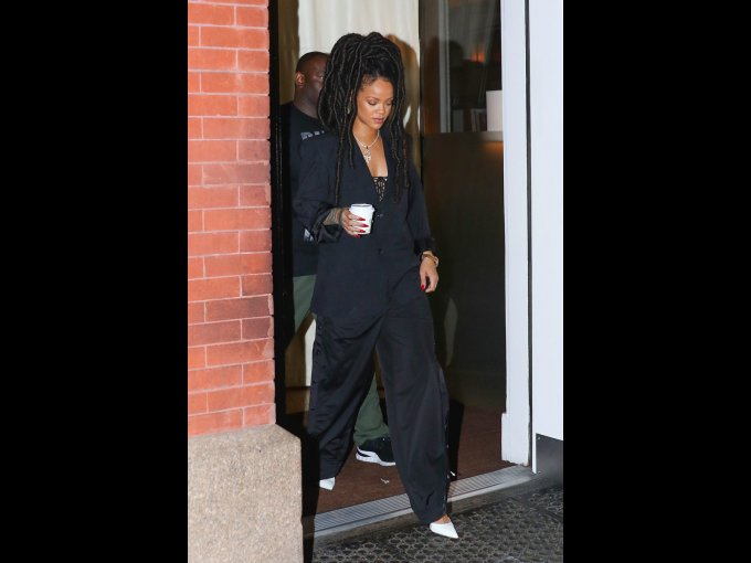 Rihanna en Vetements