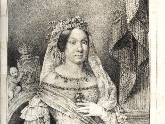 Isabella fue nombrada reina por su padre cuando tenía 3 años.