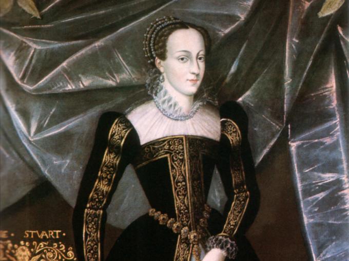 María l de Escocia inició su vida de reina a los 6 años, y para los 18 ya manejaba a la perfección su posición.