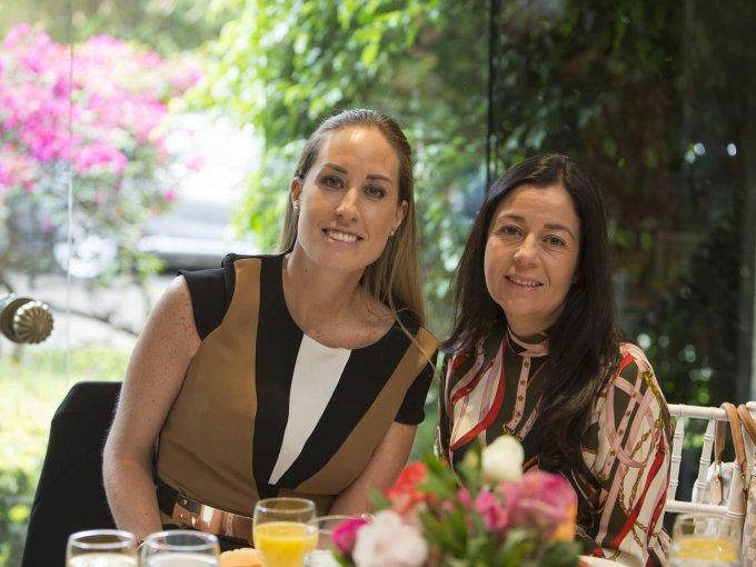Alicia Moreno y Lourdes Crespo
