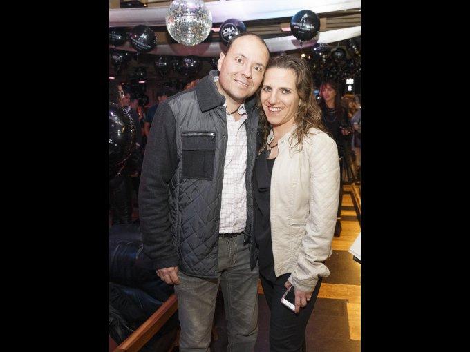 Sergio Rubi y Susana Manzur