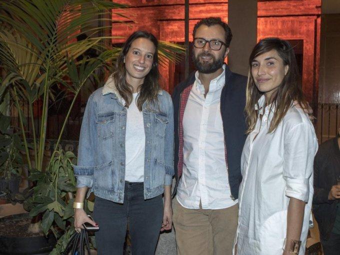 Alejandra Canale, Eduardo Canale y Alexis Madero