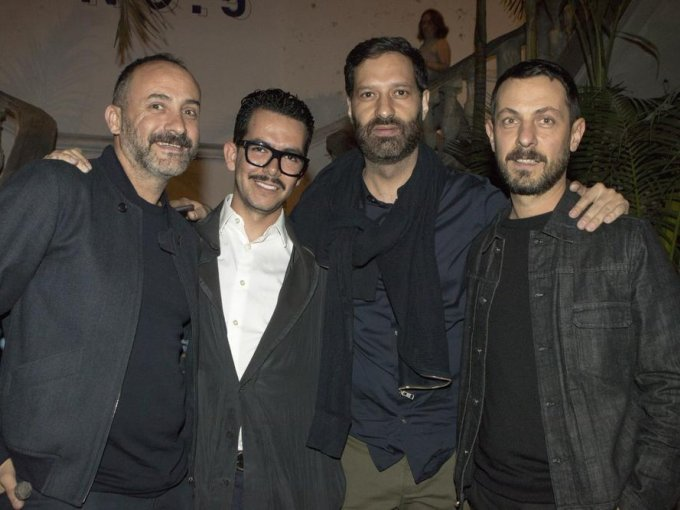 Rafael Rivera, Manolo Caro, Guillermo Escaip y Javier Claverie