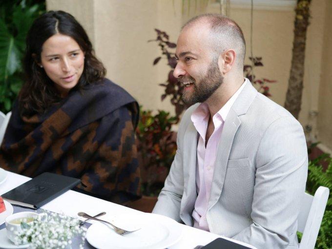 Paola Mendoza y Emmanuel Romero