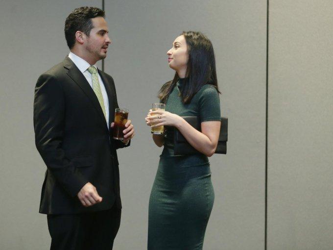 Daniel Esponda y Tania Espinosa
