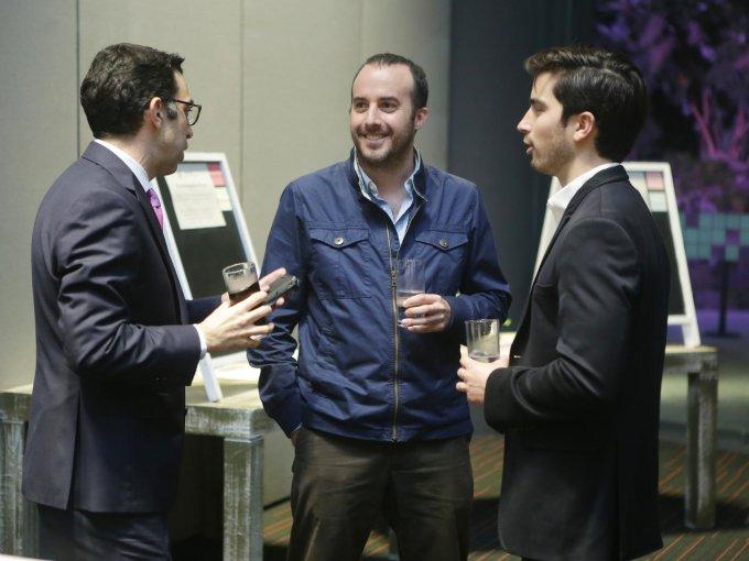 Rodrigo Llaguno, Santiago Ocejo y Bernardo Garza