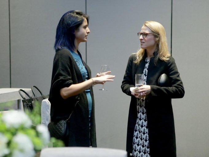 Sara Alsadi y Katharina Rothweiler