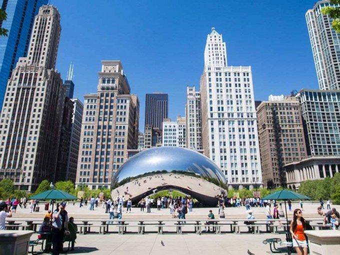 7. Chicago - Naperville - Elgin: 3,110 personas que habitan en esta región y el crecimiento va en un 7.6%