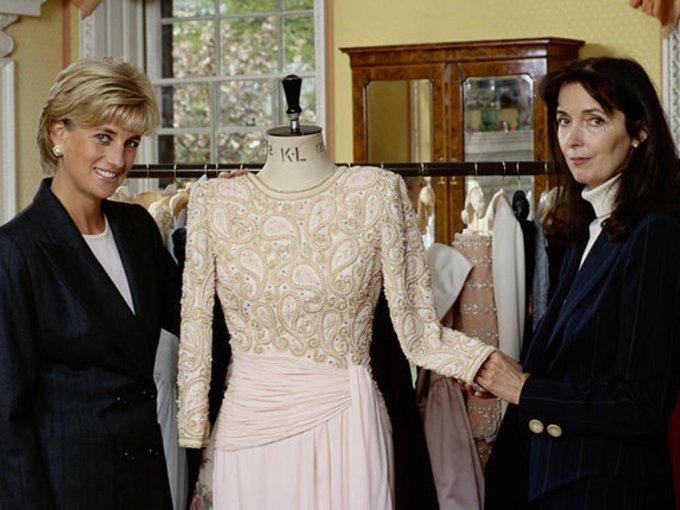 Diseñadora Catherine Walker, Princesa Diana