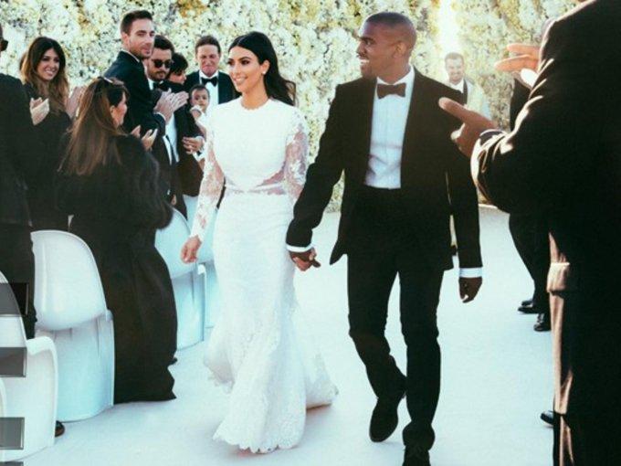 Kim Kardashian en Givenchy, 400 mil dólares