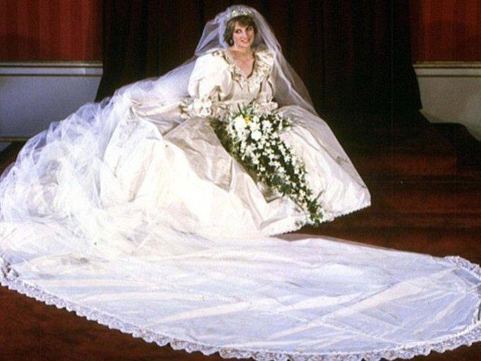 Princesa Diana en David and Elizabeth, 150 mil dólares