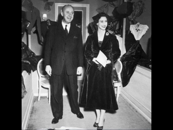 Diseñador Christian Dior, Princesa Margaret
