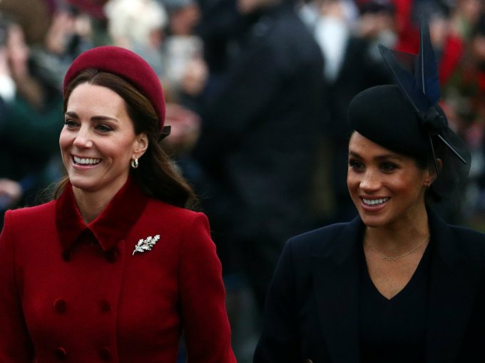 Duquesas de Cambridge y Sussex