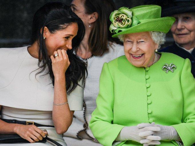 La Familia Real ha recibido muy bien a su nueva integrante, Meghan Markle. Por ejemplo, la Reina Isabel disfruto mucho de su compañía.