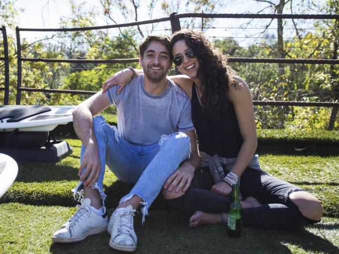 Ilan Atte y Daniela Levy