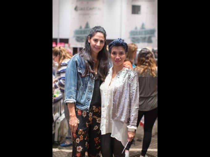 Luzma Carrera y Lilia Perea coordinaron la pasarela