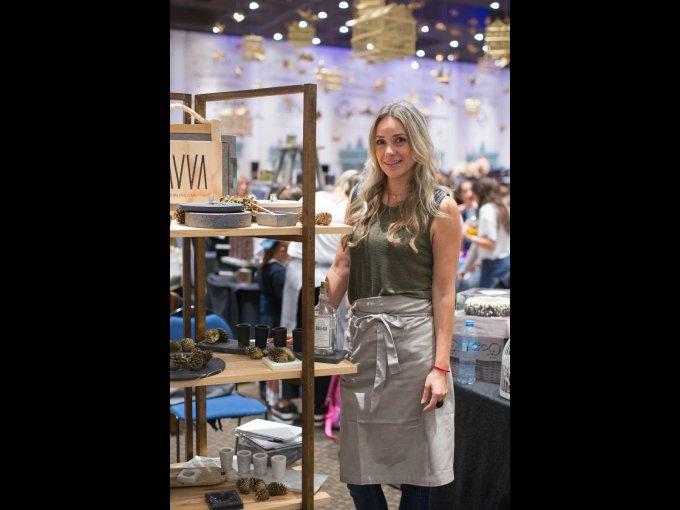 Vanessa Ferro participó con Lavva arte in pietra