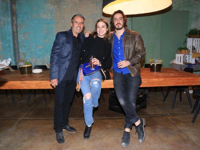 Raymundo Meixueiro, Tato Alexander y Pablo Fuentes