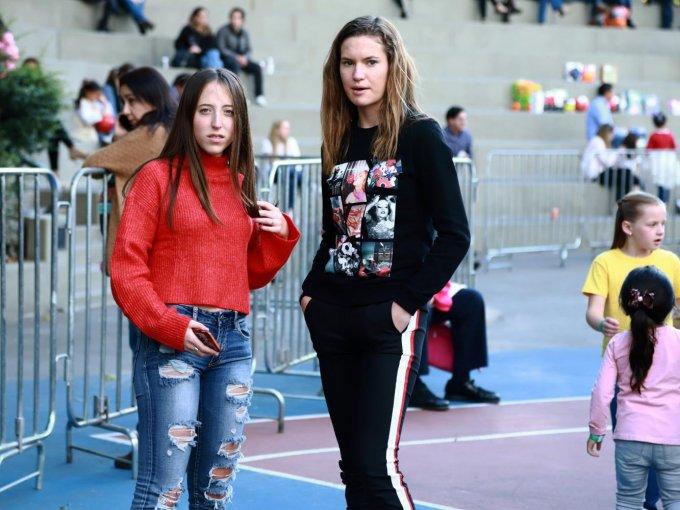 Isabel Gómez y Ana Sofía Sánchez