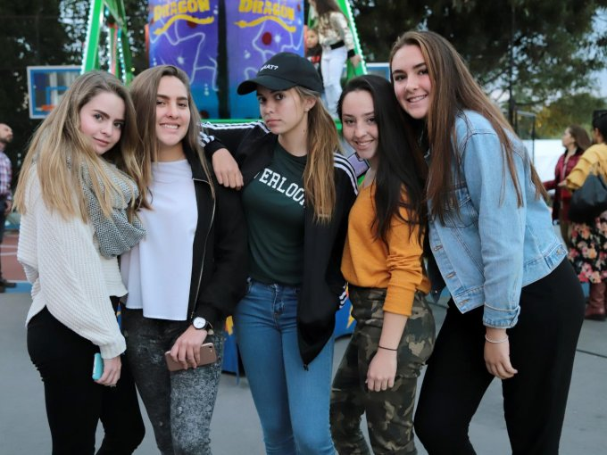 Macarena Duarte, Isabella Lerma, Lory Martínez, Vivi Alamillo y Ximena Meléndez