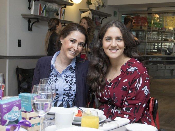 Machel Iragorri y Sofía Arana