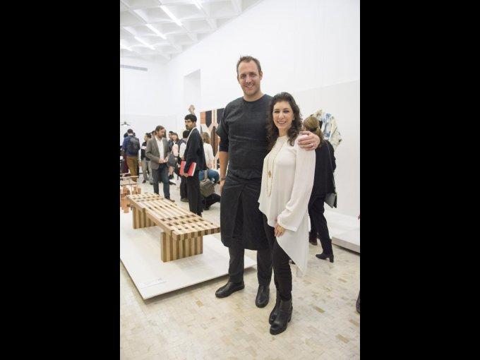 Gustavo Carmona con Tanya Moss