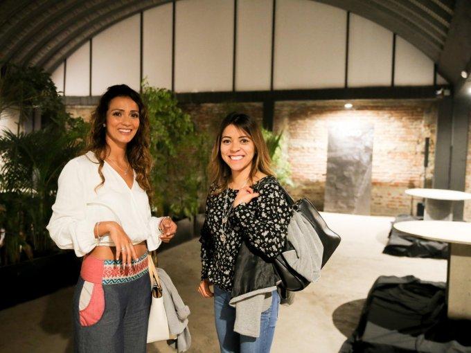 Brisa Cruz y Michelle Méndez