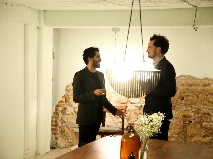 Edgar López Navarrete y Max Vonwerz