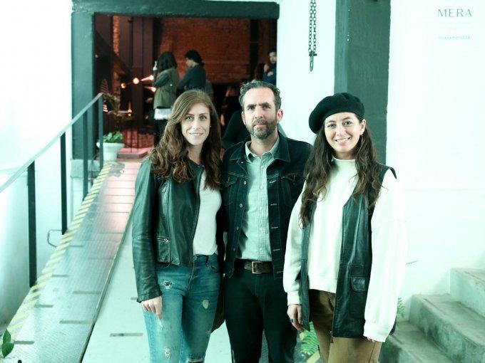 Frija Ojeda, Santiago Lebrija y Jessica Law